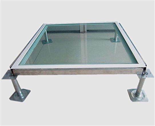 玻璃观察地板安装